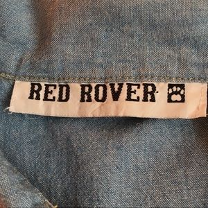 Red Rover Tops - Vintage Red Rover Crop Top
